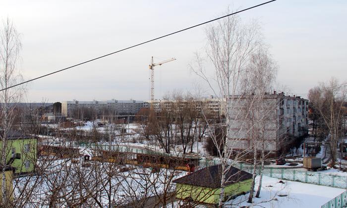 строительство дома в большевике