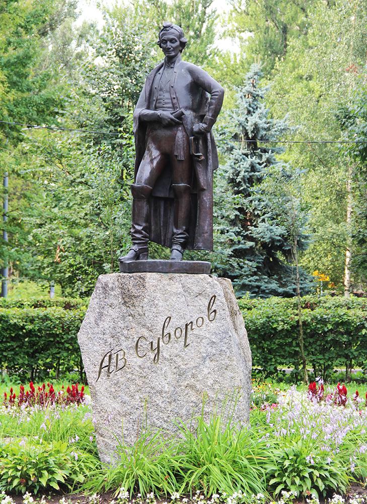 Памятник А.В.Суворову в г.Мытищи